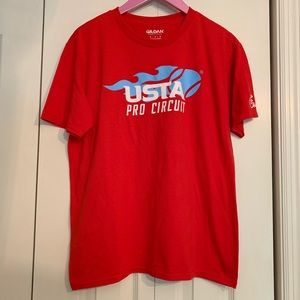 USTA Pro Circuit Tee (with signatures!)